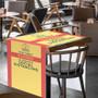 """LazerLine 36"""" Table Runner Full-Color Full-Bleed"""