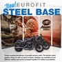 4ft Eurofit Steel Base Double Sided Wall Kit