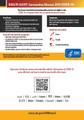 Coronavirus Covid-19 Metal Print Signage 11x17