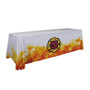 48-Hour Quick Ship 8ft Economy Table Throw (Dye Sublimation, Full Bleed) (106041)