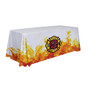 48-Hour Quick Ship 6ft Economy Table Throw (Dye Sublimation, Full Bleed) (106040)