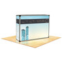 Light Box Counter with Carrying Bag and Fabric Graphic