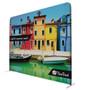 "10'W x 90""H EuroFit Straight Wall with Cascade Three-Shelf Merchandiser Kit"