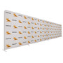 30ft EuroFit Straight Wall Double Sided Graphic Kit