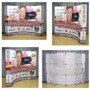 10ft OneFabric Curved Pop Up Display