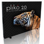 Pliko 2.0 Backlit 9ft Backwall Trade Show Display Double Sided