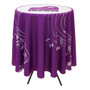 31.5 Inch Round Table Throw with 33.25 inch overhang (Full-Color, Full Bleed)