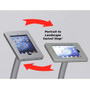 Portable iPad Kiosk Double Sided