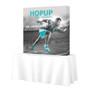 Hopup 5ft Tabletop Fabric Pop up Display