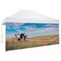 15' Tent Full Wall (Dye Sublimated, Single-Sided) (240398)