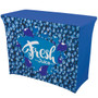 4ft UltraFit Demo Table Throw (Full-Color Dye Sublimation, Full Bleed) (114100)