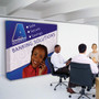 8ft Straight Fabric Pop up Displays - 48 Hour Quick Ship (250100)