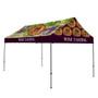 10' x 15' Premium Gable Tent Kit - Dye-Sub Full Color Full Bleed
