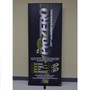 "Premium Retractable Banner Stand 34"" with Vinyl Graphic"