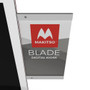 "Blade 58"" - 4K Digital Signage Kiosk - Blade Kiosk, White, Pro Interface, Touch"
