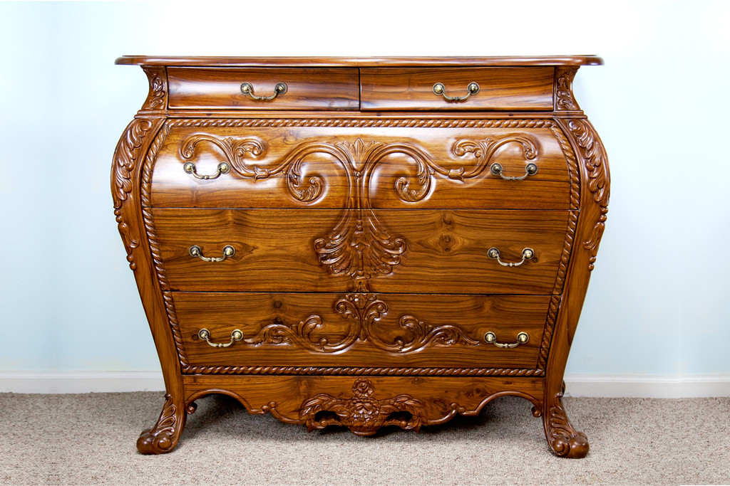 Teak Furniture Consoles Amp Chests Dutch Style Bombay Chest