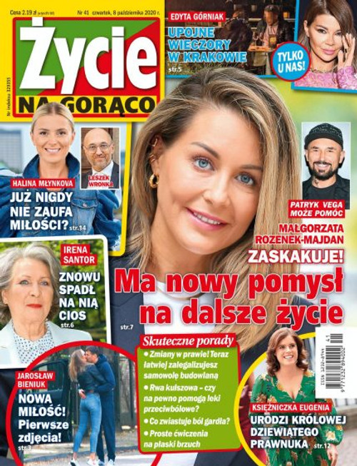 Zycie na Goraco - 3 month subscription (Price Includes Shipping)