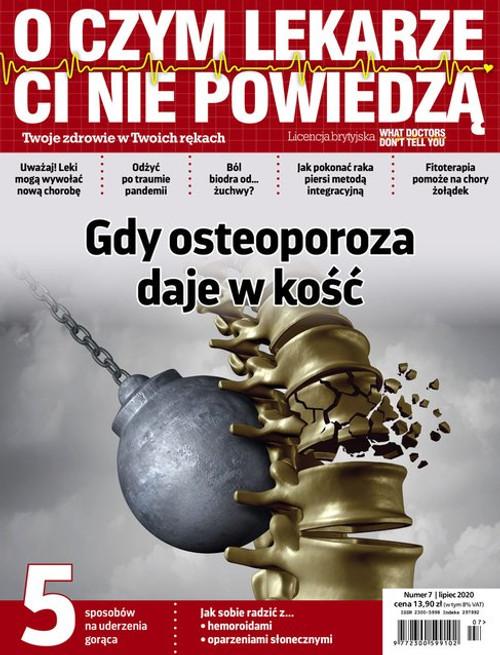 O Czym Lekarze Ci Nie Powiedzą - 3 month subscription (Price Includes Shipping)