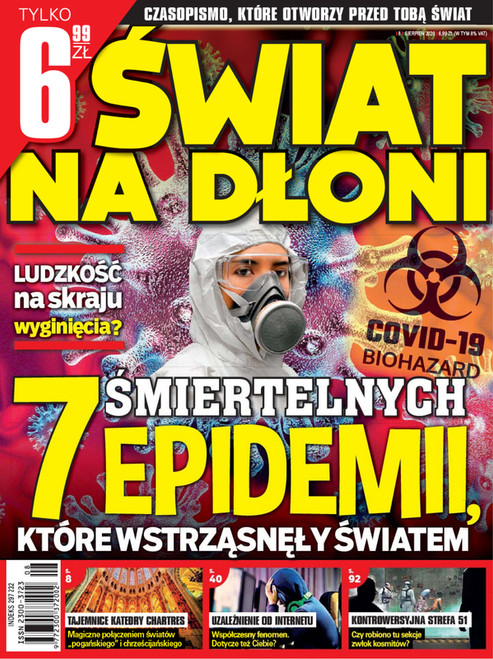 Swiat na dłoni - 3 month subscription (Price Includes Shipping)