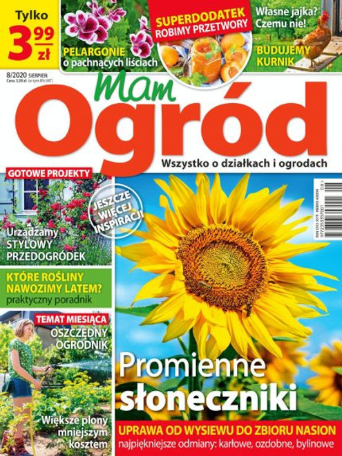 Mam Ogrod - 3 month subscription (Price Includes Shipping)
