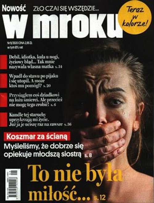 W Mroku - 6 months subscription (Price Includes Shipping)
