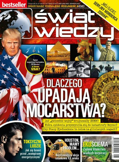 Swiat Wiedzy - 6 month subscription (Price Includes Shipping)
