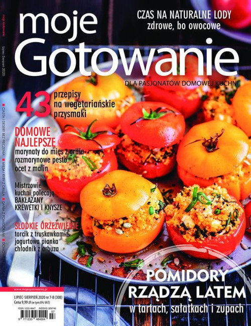 Moje Gotowanie - 6 month subscription (Price Includes Shipping)