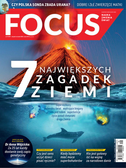 Focus - 6 month subscription (Price Includes Shipping)