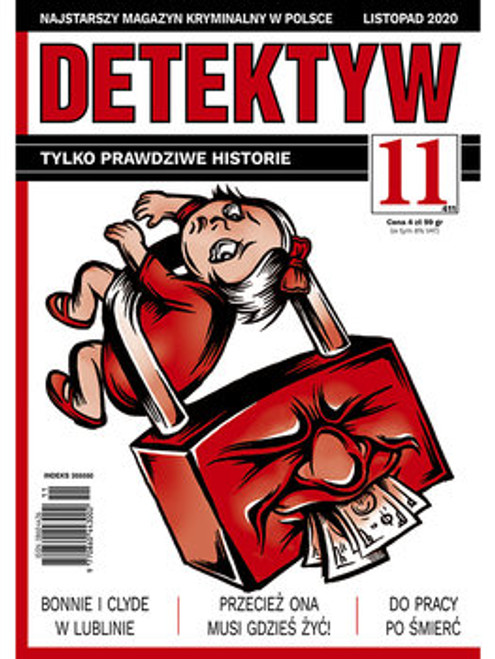 Detektyw - 6 month subscription (Price Includes Shipping)