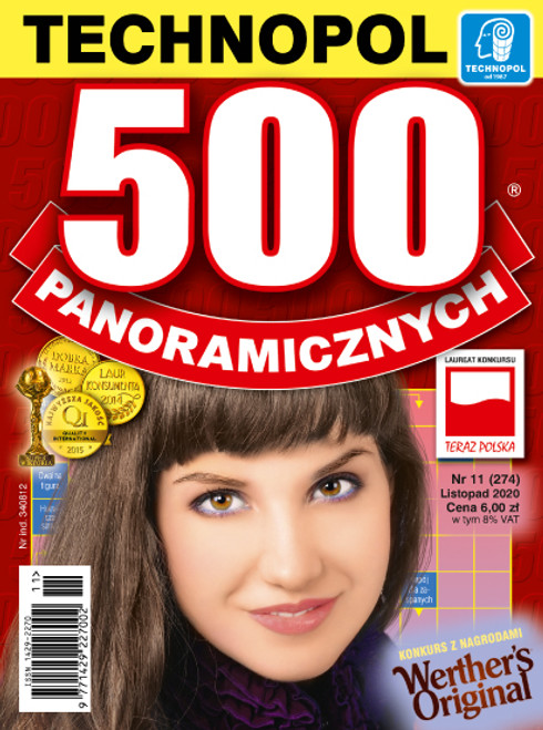 500 Panoramicznych - 6 month subscription (Price Includes Shipping)