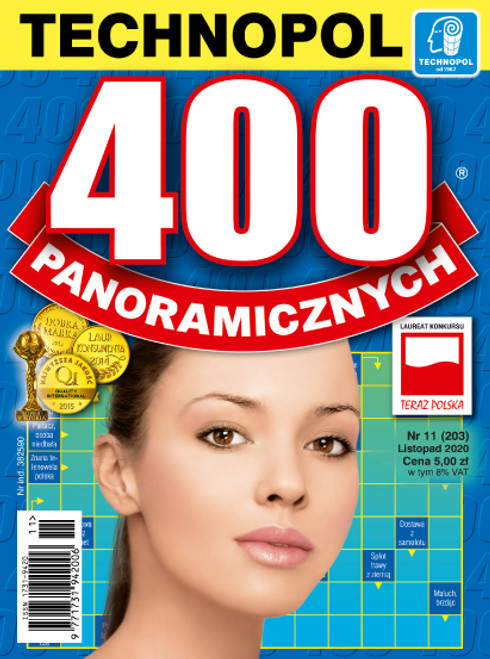 400 Panoramicznych - 6 month subscription (Price Includes Shipping)
