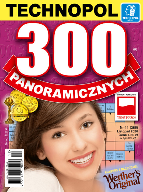 300 Panoramicznych - 6 month subscription (Price Includes Shipping)