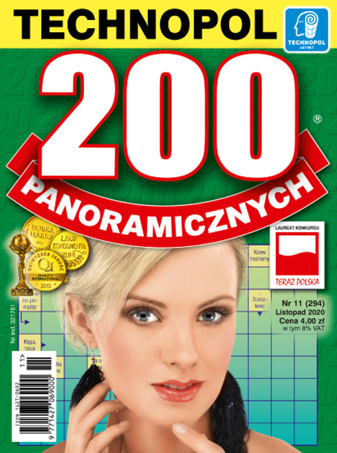200 Panoramicznych - 6 month subscription (Price Includes Shipping)