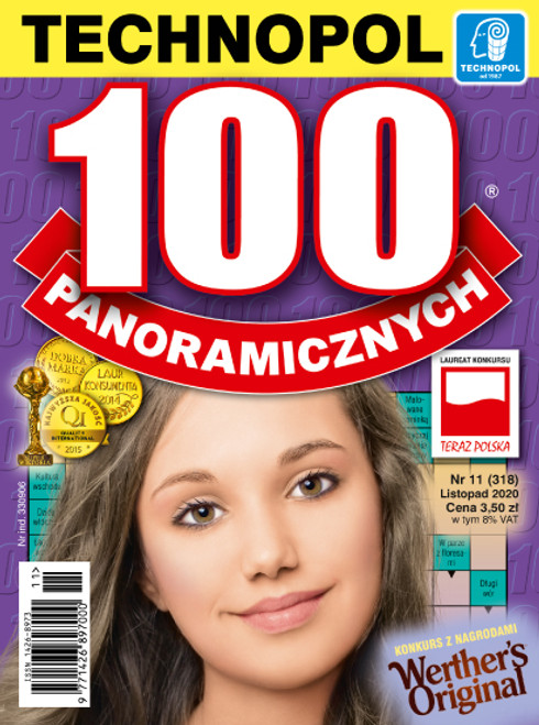 100 Panoramicznych - 6 month subscription (Price Includes Shipping)