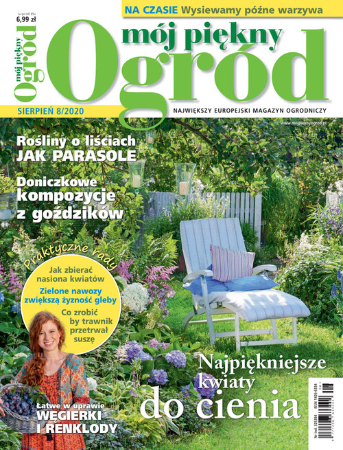Moj Piekny Ogrod - 6 month subscription (Price Includes Shipping)