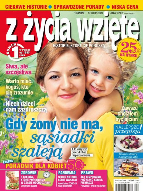 Z Życia Wzięte - 3 month subscription (Price Includes Shipping)