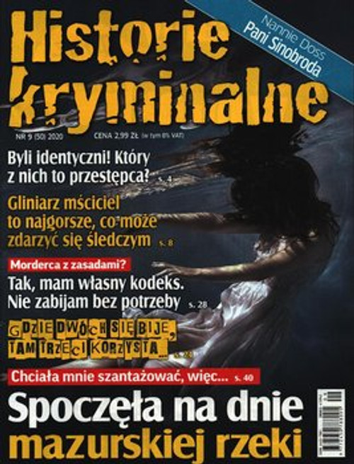 Historie Kryminalne -3 month subscription (Price Includes Shipping)