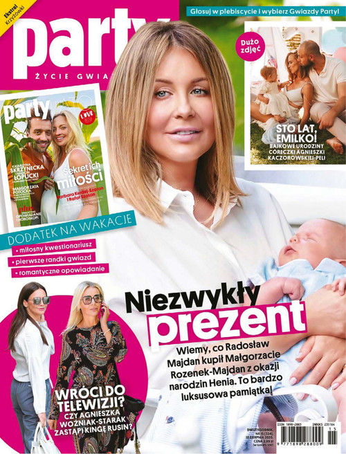 Party - Życie Gwiazd! - 3 month subscription (Price Includes Shipping)