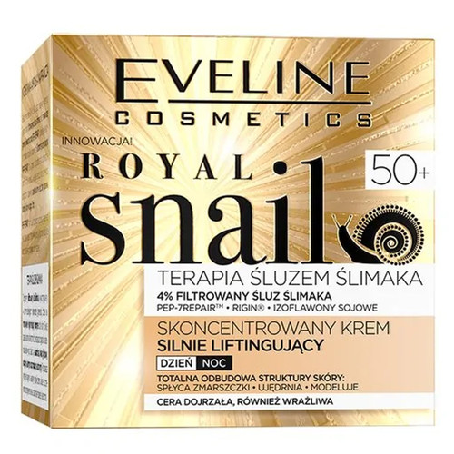 Eveline - Royal Snail Concentrated Lifting Day & Night Cream (50+), 50ml