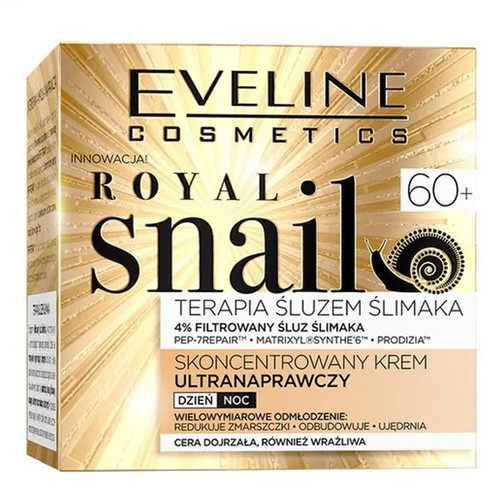Eveline - Royal Snail Concentrated Ultra Repair Day & Night Cream (60+), 50ml