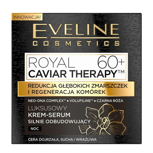 Eveline - Royal Caviar Therapy Rejuvenating Intensely Day Cream (60+), 50ml