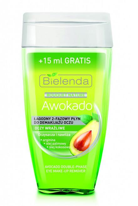 Bielenda - Avocado Gentle Double Phase Makeup Remover, 125ml