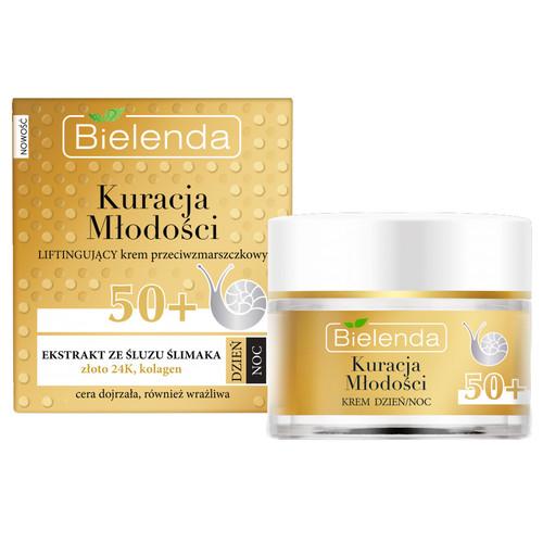 Bielenda - YOUTH THERAPY Moisturizing Anti-Wrinkle Day & Night Cream 50+, 50ml