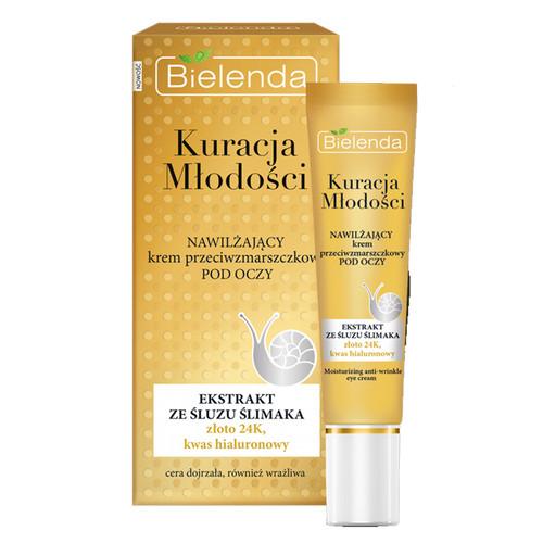 Bielenda - YOUTH THERAPY Moisturizing Anti-Wrinkle Eye Cream, 15ml