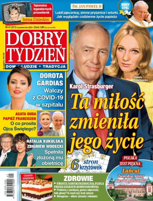 Dobry Tydzień - 3 month subscription (Price Includes Shipping)