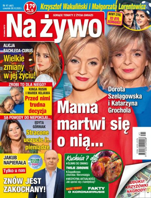 Na Żywo - 3 month subscription (Price Includes Shipping)