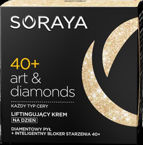 Soraya - ART & DIAMONDS Lifting Day Face Cream 40+, 50ml
