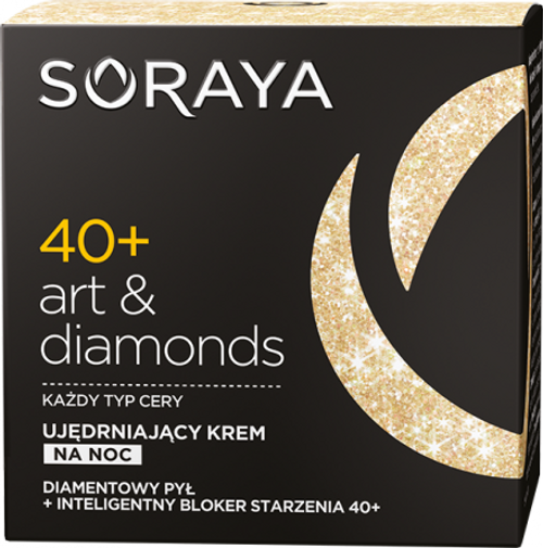Soraya - ART & DIAMONDS Firming Night Face Cream 40+, 50ml