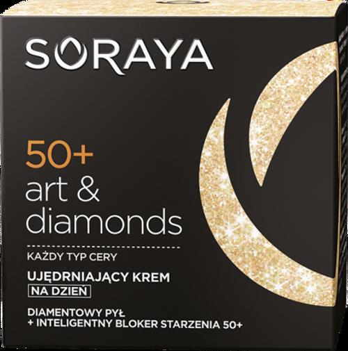 Soraya - ART & DIAMONDS Firming Day Face Cream 50+, 50ml