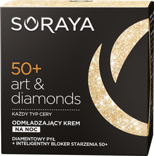 Soraya - ART & DIAMONDS Rejuvenating Night Face Cream 50+, 50ml